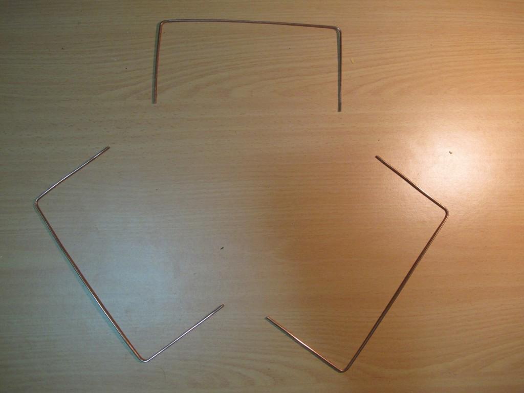 Three Cloverleaf segments still in process of being fabricated