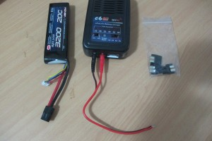New battery, charger and plug adapters